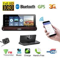 7 Inch Touch Screen Car DVR Camera Android 3G With Wifi GPS Dash Cam Video Recorder
