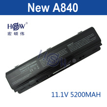 HSW Laptop Battery For Dell Vostro 1014 1015 1088 A840 A860 Inspiron 1410 F286H F287F F287H G066H PP37L PP38L R998H 451-10673(China)