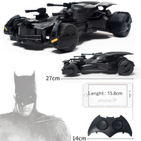 1:18 Batman vs Superman Justice League electric RC car kids toy model Gift simulation display Batmobile fight RC Sports Vehicle