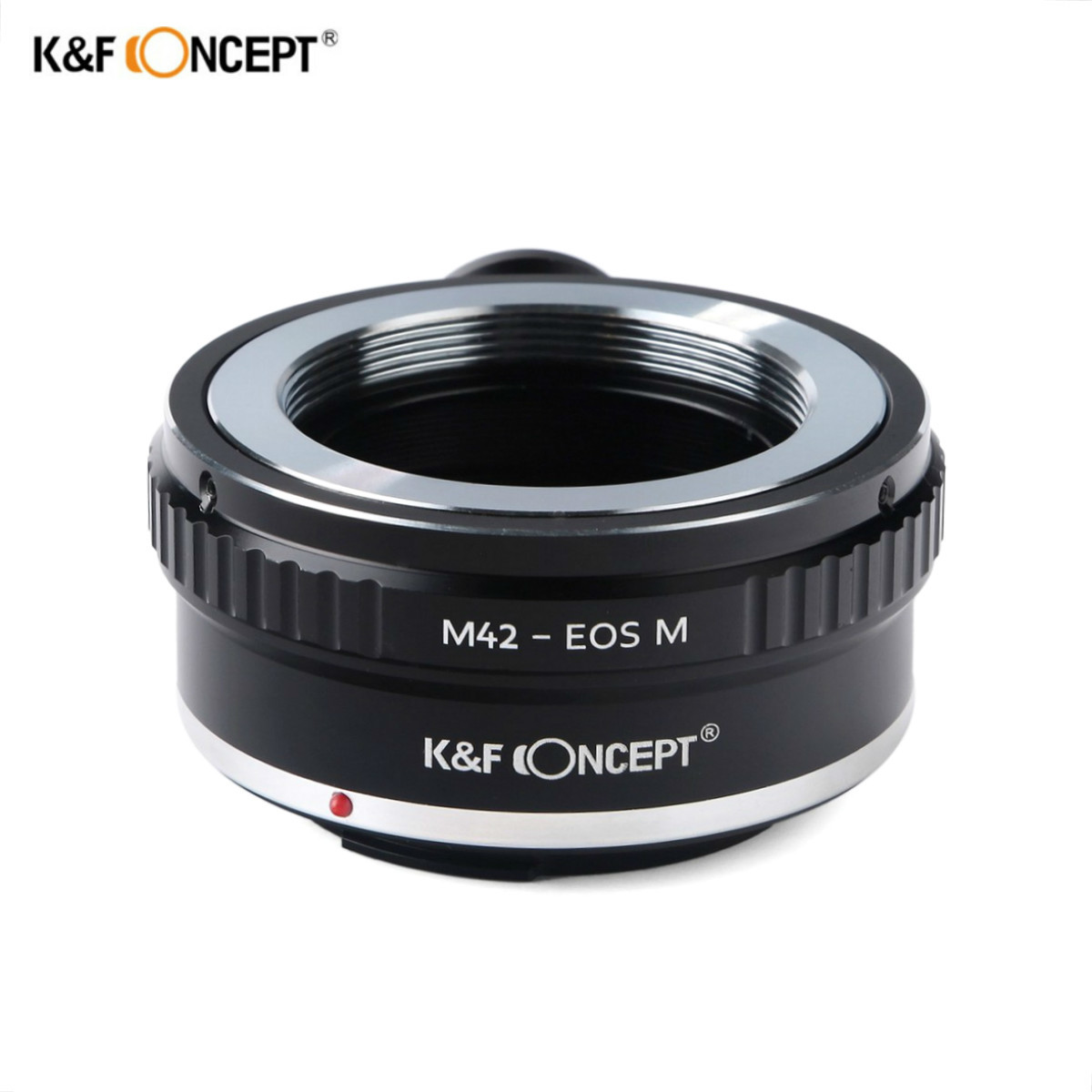 K F Concept Lens Adapter Ring for M42 42MM Screw Mount Lens to Canon EOS M