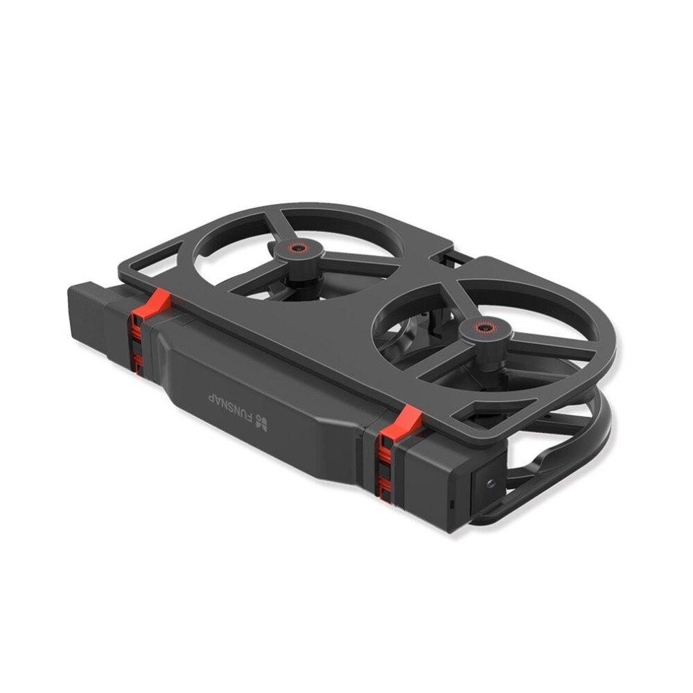 FUNSNAP iDol 2.4g RC Drone Pliable GPS Quadcopter avec 120'Pitch 1080 p HD Wifi FPV Caméra Optique Flux Positionnement geste fz
