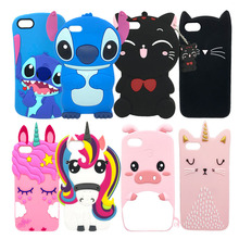 3D Lovely Cartoon Soft Silicone Phone Case For iPhone 5S 6 6S 7 8 Plus X XS Cover Rabbit Glitter Cat Stitch Unicorn Animal Cases