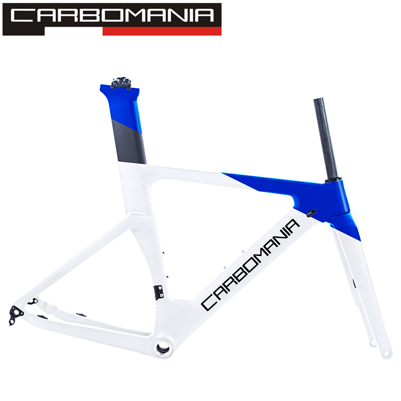 2019 Carbon Road Frame Disc Brake 700c Carbon Disc Bike Frame Di2 Mechanical Road Cycling Race Bicycle Frame Set Thru Axle 12mm in Bicycle Frame from Sports Entertainment
