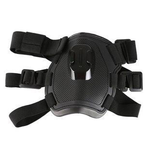 Image 2 - לירות כתף כלב להביא רתם חזה רצועת חגורת הר עבור GoPro Hero 6 5 4 3 2 עבור SJ4000 פעולה מצלמה