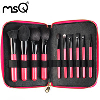 Makeup Brushes Set Professional Makeup Brush Sets Classic Soft Goat Hair Brushes Kit 10PCs Cosmetic Brushes