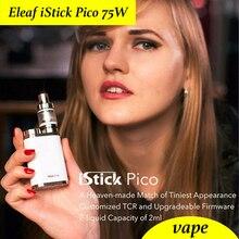 เดิมEleaf istick Pico 75วัตต์สมัยกล่อง/ชุดVapeบุหรี่อิเล็กทรอนิกส์โดยไม่ต้องของเหลว/เพิ่มMELO 3มินิสาร