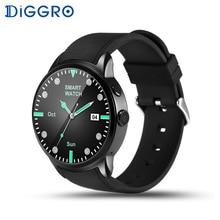 Diggro DI01 SmartWatch Android 5.1 1 GB + 16 GB Impermeable Monitor de Ritmo Cardíaco Bluetooth WIFI 3G Tarjeta SIM Smartwatch Para Android IOS
