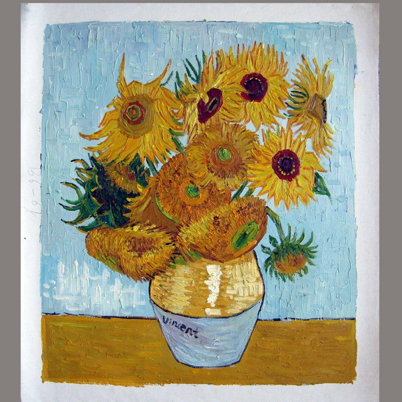 High Quality Oil Painting Reproduction of Vincent Van Gogh ...