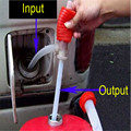 High Quality Portable Manual Car Oil Pump Siphon Hose Fuel Oil Water Liquid Transfer Hand Pump Sucker Top Sale