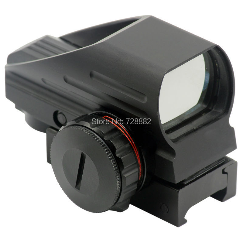 Tactical Holographic 4 Reticle Red Green Dot Reflex Sight Scope with 20mm Weaver Rail Mount Free Shipping gigabyte ga ep45 ds3l original used desktop motherboard ep45 ds3l p45 lga 775 ddr2 16g sata2 usb2 0 atx