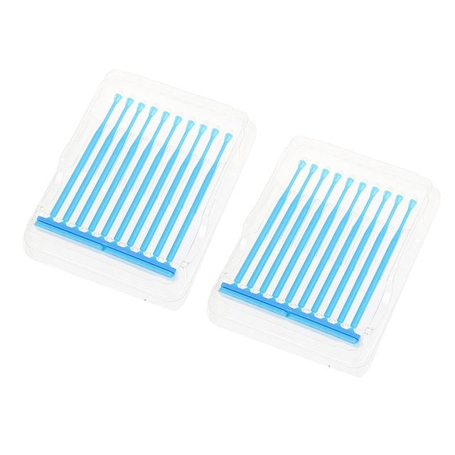 HOT 10pcs/box Dental Disposable Adhesive Tip Applicator Tooth Crown Porcelain Veneer Disposable Health Care