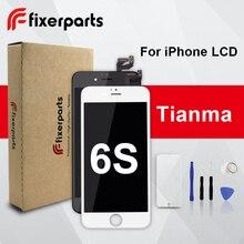 1pcs 학년 tianma lcd 아이폰 6s 디스플레이 터치 스크린 디지타이저 교체 전체 어셈블리 아이폰 6s lcd 전화 케이스