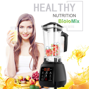 Image 2 - BPA FREE High Power Digital Touchscreen Automatically Program 3HP Blender Mixer Juicer Food Processor Ice Green Smoothie