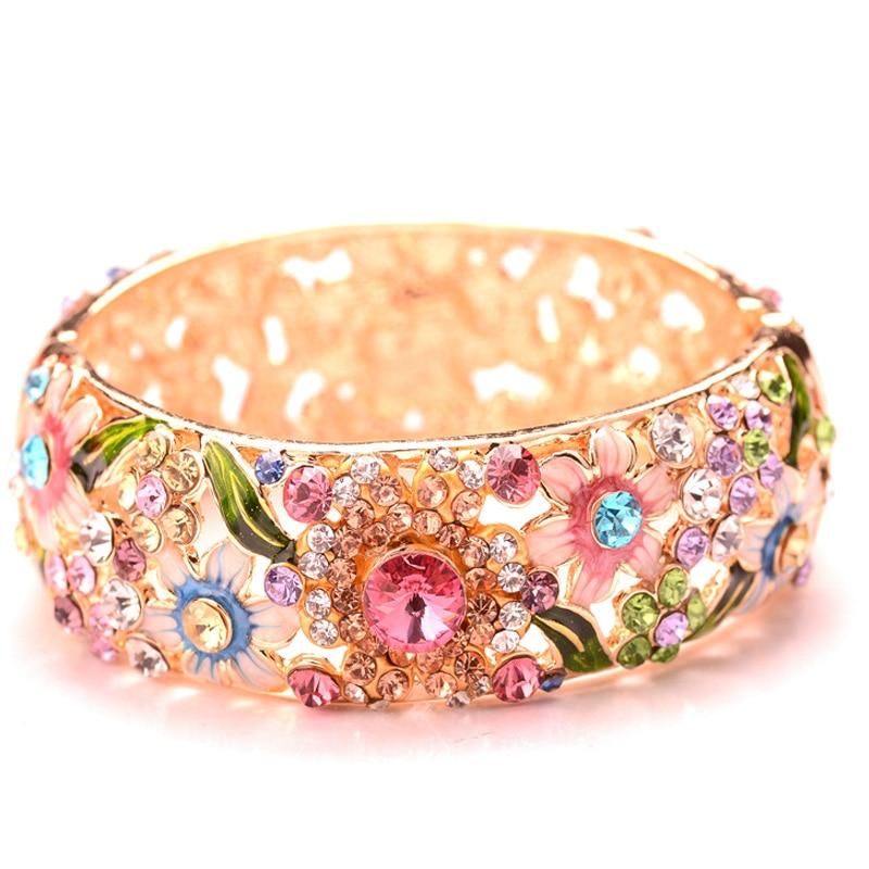 Fashion Retro Ethnic Style Design Crystal Embellishment