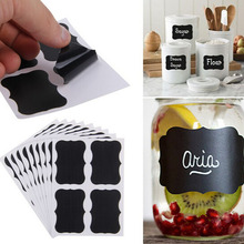 NEW Cheap 36x Chalkboard Blackboard Chalk Board Stickers Craft Kitchen Jar Labels Tags Hot Sale(China)