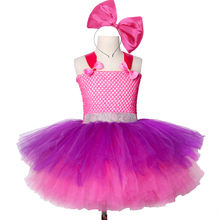 Girls Lol Tutu Dress Cute Princess Birthday Party Fancy Kids Halloween Christmas Dolls Cosplay Costume Clothes