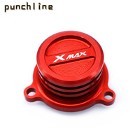 Fit For YAMAHA XMAX 125 XMAX 250 XMAX400 XMAX 300 X MAX 250 300 400 ABS 2017 2019 Reservoir Cup Engine Oil Filter Cover Cap