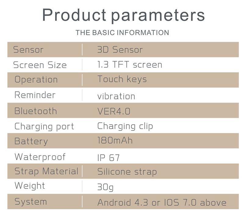 Reloj inteligente IP67 con Monitor de ritmo cardíaco 28
