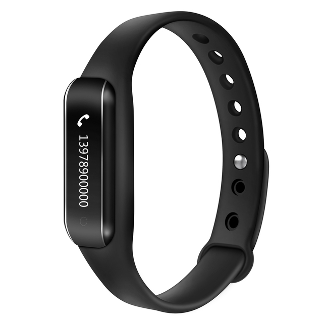 C6B Bluetooth Waterproof Sport Smart Band Heart Rate Monitor Sleep Monitor Bracelet Pedometer Tracker Wirstband Anti Lost