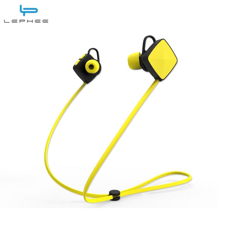 Lephee Wireless Bluetooth Earphones Sport In Ear Stereo Earphone For Iphone 7 6S Xiaomi Oneplus
