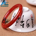 Fashion Jewelry Natural Women Brand Bangle Bracelet 100% Natural Red Agate Bangle Gift for Women