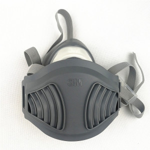 Image 4 - 3M 1211 mask+12pcs 3M 1701 Filter Gas Mask prevent Dust Suitable for industrial truction Dust pollen Haze