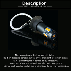 Image 5 - 2 قطعة H3 عالية الطاقة سيارة السيارات LED الضباب أضواء 12V لمبة مصباح ل كزس LX470 ES300 IS300 SC430 GX470 سوبارو تريبيكا امبريزا ليجاسي