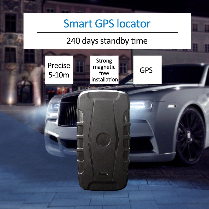 Car GPS Tracker Tracking System Portable 3G 20000mAH Powerful Magnet GPS Locator 240 Days Standby Time Tracker Car Electronics in GPS Trackers from Automobiles Motorcycles