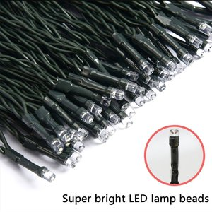 Image 2 - LED F5 50/100/200/500 Outdoor Solar Lampe LED Lichterketten Fee Urlaub Weihnachten Party Girlanden Solar Garten Wasserdicht Lichter