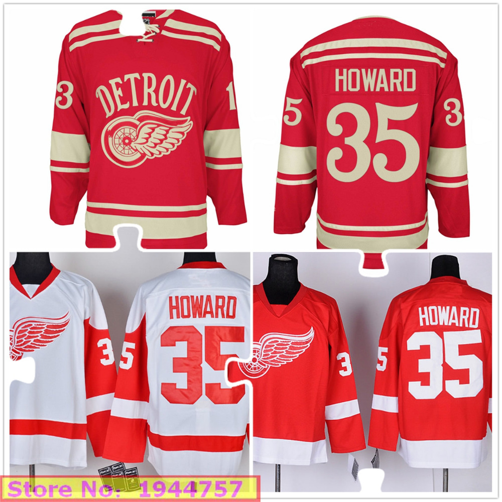 new styles 3a537 0c55e jimmy howard winter classic jersey