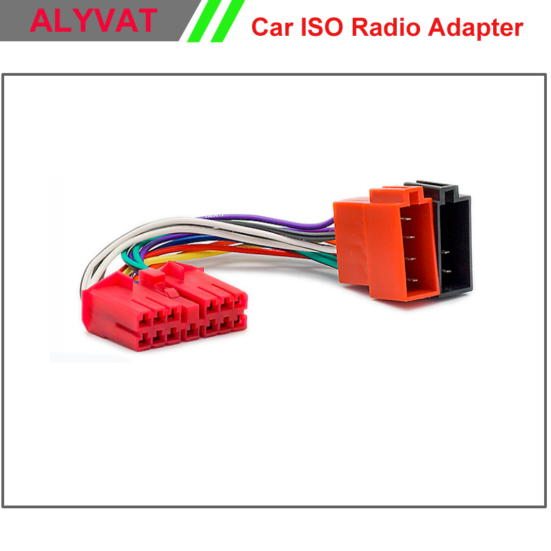 Daewoo Stereo Wiring Harness : Car iso radio adapter connector for daewoo nexia espero