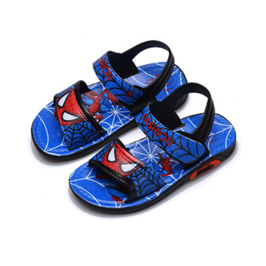 2018 New Summer Boys Sandals Cartoon Home Non-slip PVC Girls Casual Shoes Kids 1-16Years Old Size 21-35 Sandals