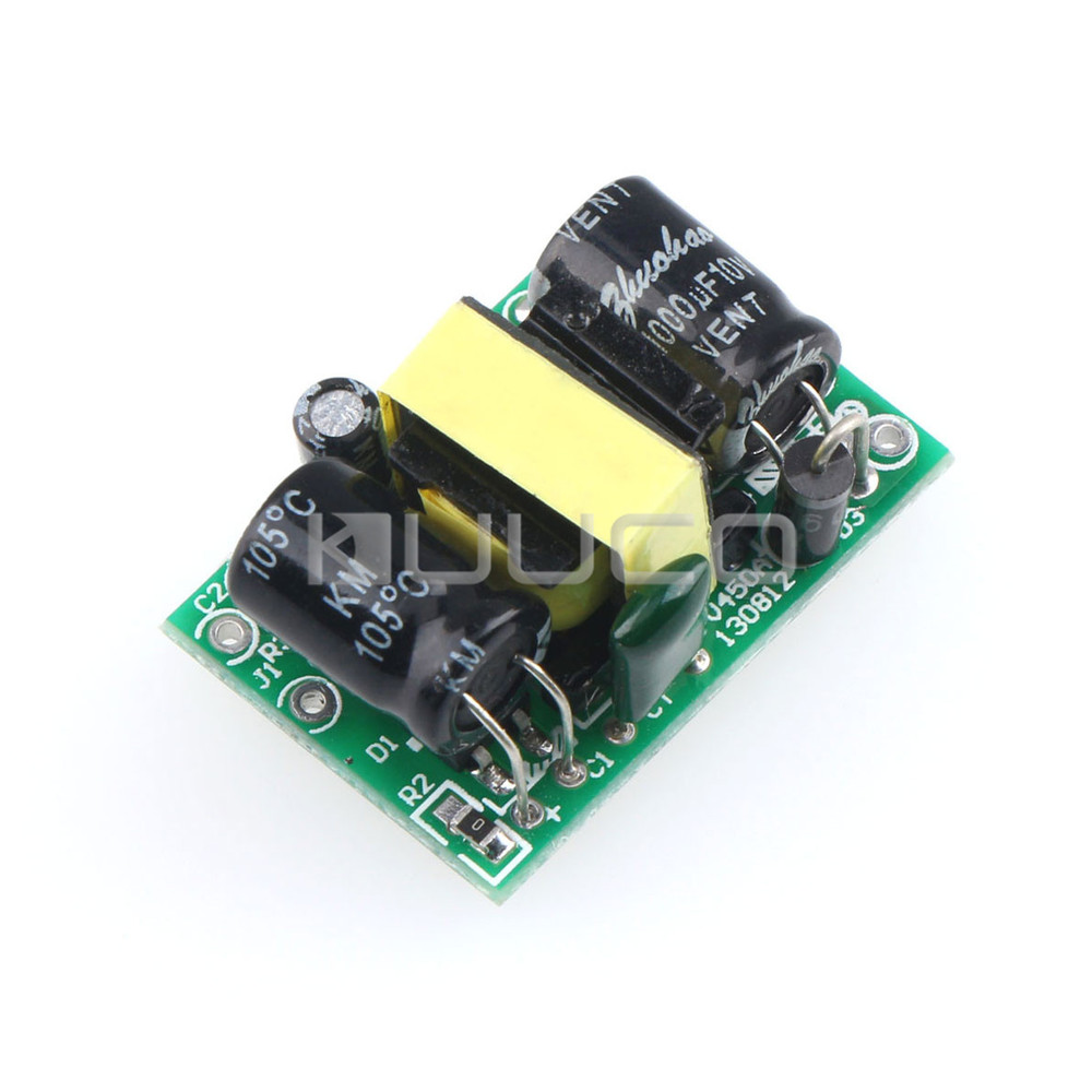 4W Power Adapter AC 90V~240 110V 220V to DC 5V 800mA Power Supply Module DC 5V Switching Power Supply/Voltage Regulator vi j50 cy 150v 5v 50w dc dc power supply module