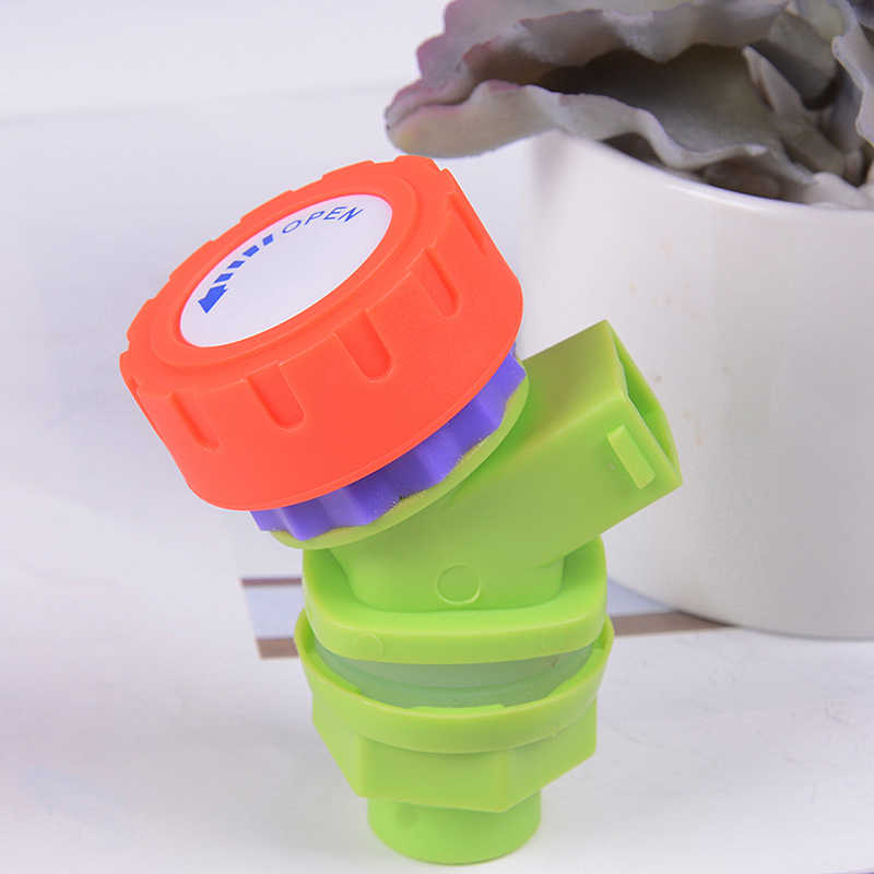 Water Faucet Tap Knob Type Plastic Outdoor Water Faucet Tap Replacement for Water Tank Bucket Wine Juice Bottle