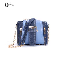 CUMYKA Mini Female New Handbag Colors Fashion Vintage Bags For Women Messenger Chain Simple Bucket Bag Small Ladies