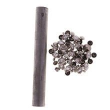 Professional 6/7/8/9mm Hand Die Tool Set Leather Craft Rapid Rhinestones Rivets Press Stud Tool for Jeans Shoes Clothing Canvas