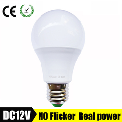 E27 LED Bulb Lights 3W 6W DC 12V 24V 36V Led Lamp AC 9W 12W Energy Saving Lampada 12 Volts Led Light Bulbs for Outdoor Lighting