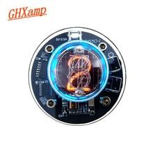 GHXAMP Einzigen Rohr Glow Uhr QS30 1 SZ30 1 nixieröhren uhr RGB LED Audio Elektronische Zubehör DC5V USB