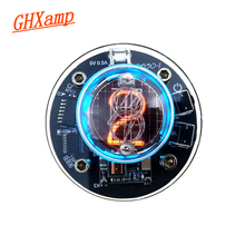GHXAMP 単管グロー時計 QS30 1 SZ30 1 ニキシー時計 RGB LED オーディオ電子アクセサリー DC5V USB