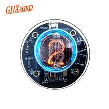 GHXAMP واحد أنبوب توهج ساعة QS30 1 SZ30 1 nixie ساعة RGB LED الصوت الملحقات الالكترونية DC5V USB