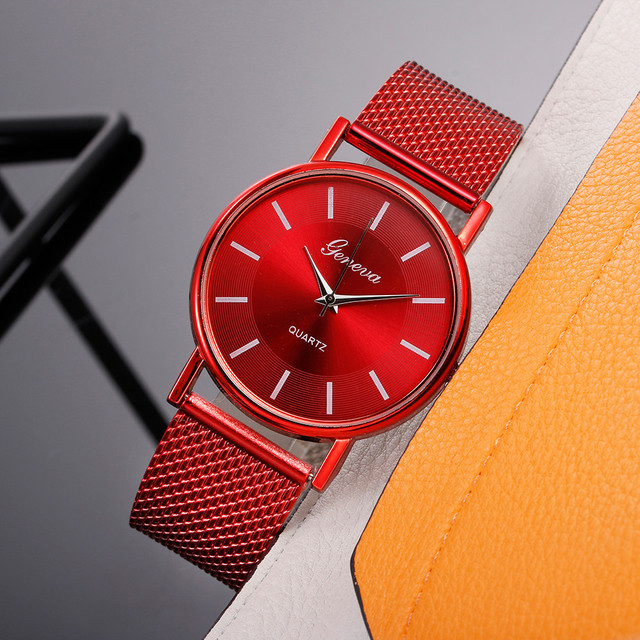 Stainless Steel Women Quartz Watch