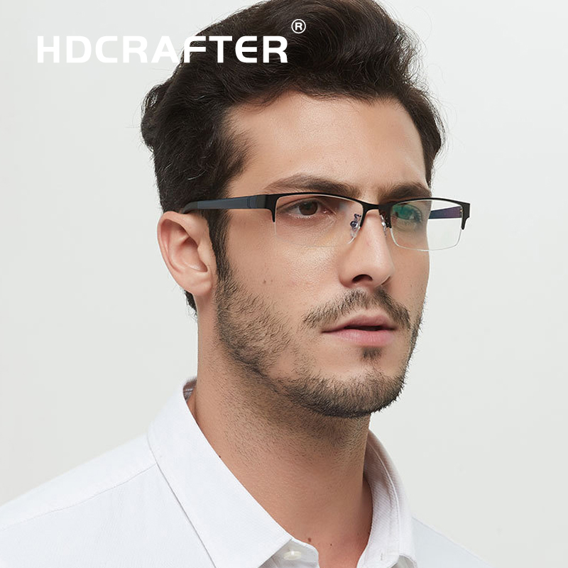 2016 HDCRAFTER New  Eye Glasses Frame Men Women Myopia Eyeglasses Fashion Optical Frame Plain Mirror Oculos