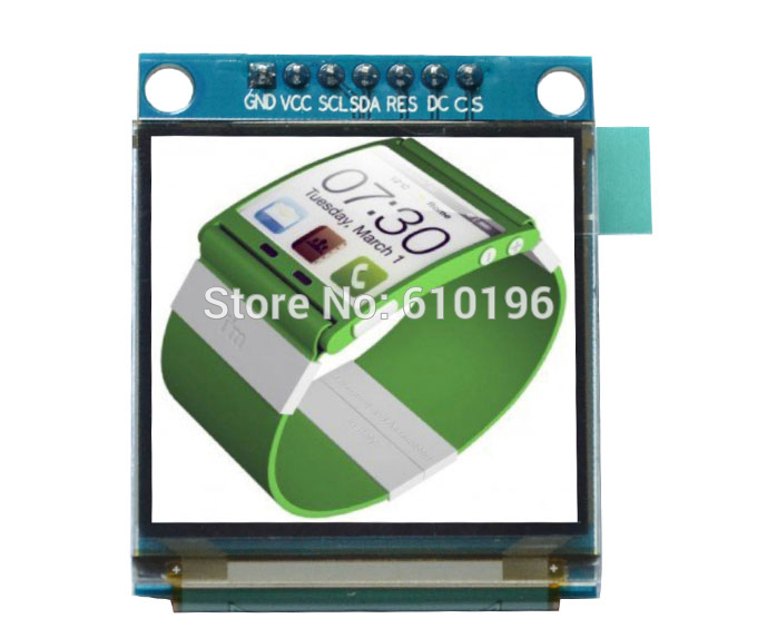 1.5 inch Colorful OLED Module SSD1331 128x128 Resolution for 51 STM32 Arduino1.5 inch Colorful OLED Module SSD1331 128x128 Resolution for 51 STM32 Arduino