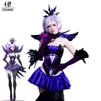 ROLECOS New Arrival Game LOL Lux Cospaly Costumes Elementalist Lux Dark Element Skin Cosplay Costumes