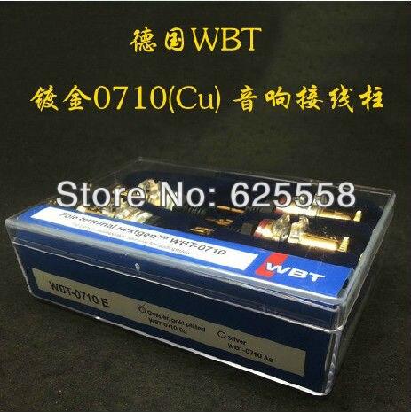 Pole terminal Nextgen Hifi audio -0710 Gold speaker terminal amplifier terminal best loudspeaker terminal
