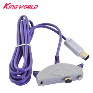 Image 1 - For G C to for G ame boy A dvance G BA G BA SP 2 Player Cable Pair Line Connect Cord Lead