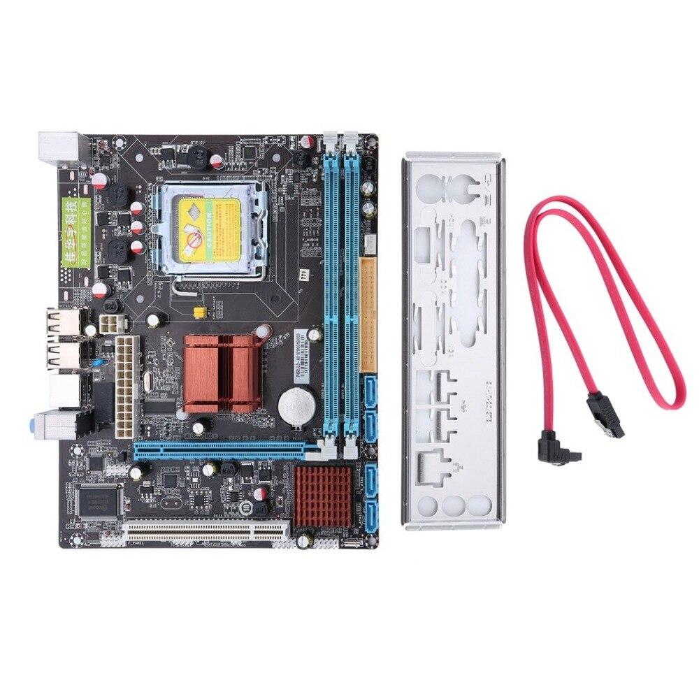 Материнская плата ПК высокое Совместимость P45 компьютер Fast Ethernet плата 771/775 двойной борт DDR3 Поддержка L5420