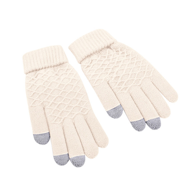 1 Pair Knitted Winter...