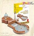 Cubicfun 3D Головоломки Игрушки 114 ШТ. С. Питер Собор Модель MC092h детский Подарок