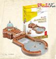 Cubicfun 3D Puzzle Toys 114PCS S.Peter Cathedral Model MC092h Children's Gift